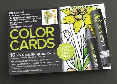 CLCC0102 Chameleon Color Cards Flowers