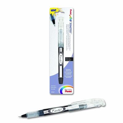 PLSD98PABPA Pentel FINITO! Porous Point Pen, X-tra Fine Point Tip, Black Ink, 1-Pk