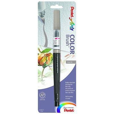 PLGFLBP137 Pentel Color Brush Water-Based - Gray