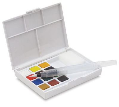 Sakura Koi Water Color Pocket Field Sketch Box