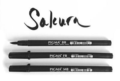 Picture of Sakura Pigma Professional Brush Pen