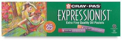 SKXLP25 Sakura Cray-Pas Expressionist 25 Pc Set - 25 Colors