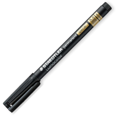 MS319M-9 Staedtler Lumocolor Permanent Marker Special- Medium