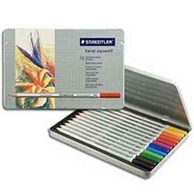 MS125M12 Staedtler Karat Watercolor Pencil 12 Set