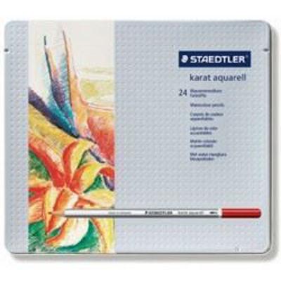 MS125M24 Staedtler Karat Watercolor Pencil 24 Set