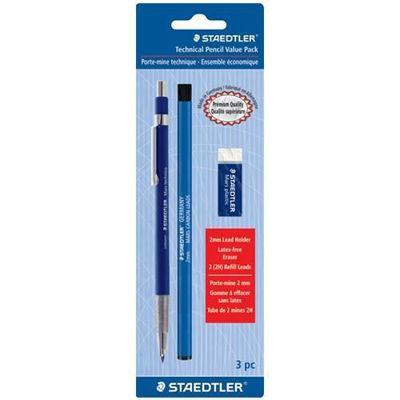 MS780SBK Staedtler Technical Pencil Value Pack