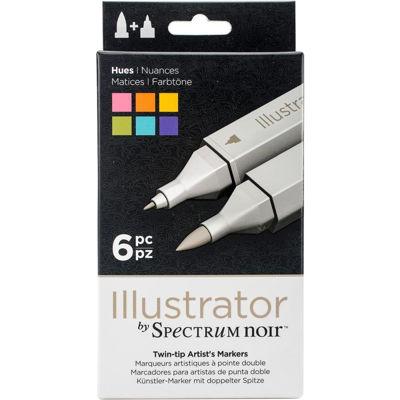 Spectrum Noir Illustrator 6 PC Hues