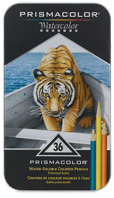 SA4066 Prismacolor Premier Water-Soluble Color Pencil 36 Set