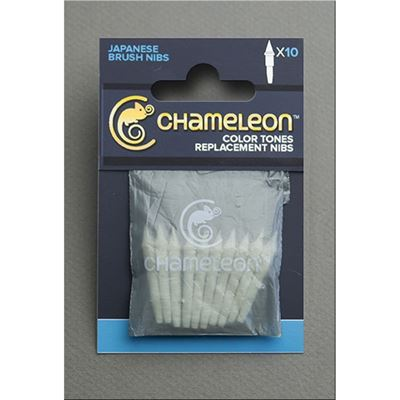 Chameleon Replacement Brush Nibs - 10 Pack