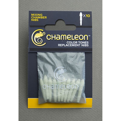 Chameleon Replacement Japanese Mixing Chamber Nibs - 10 Pack