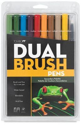 TB56168  Tombow Abt Dual Brush Pen 10 Set - Secondary