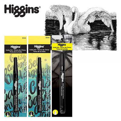 ch-higgins-india-ink-pump-markers
