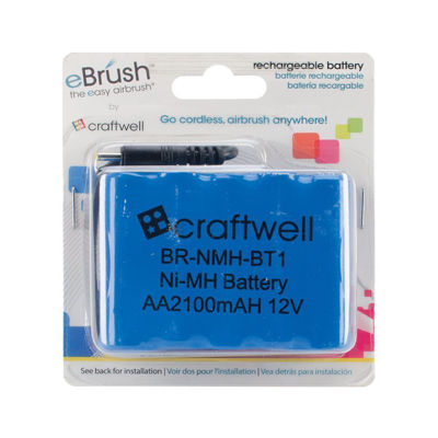 Craftwell Usa Ebrush Rechargeable Battery 12v 30000mah Ni-Mh
