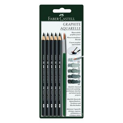 Faber-Castell Graphite Aquarelle Drawing Sets