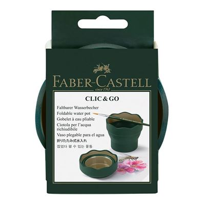 Faber-Castell Click And Go Water Pot Container