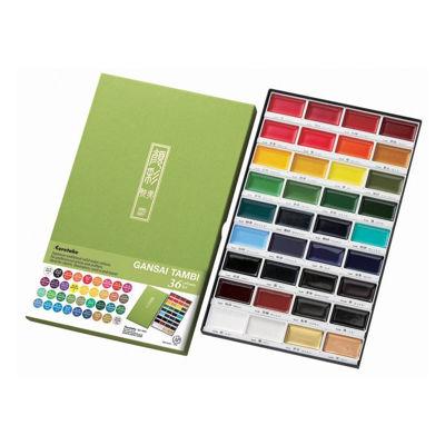 Zig Kuretake Gansai Tambi 36 Colors Set