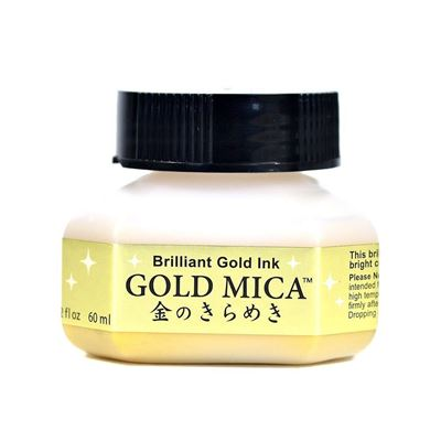 Zig Brilliant Gold Ink Gold Mica (60ml)