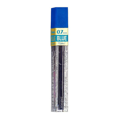 Pentel Refill Lead 0.7mm Blue