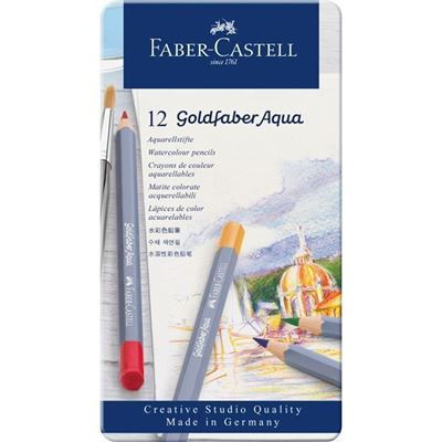 Picture of Faber-Castell GoldFaber Aqua Watercolor Pencil Sets