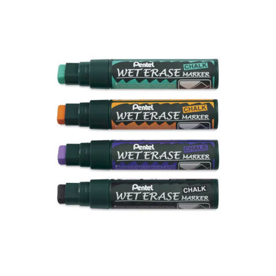 Pentel Wet Erase Wide Tip 4 colors 2