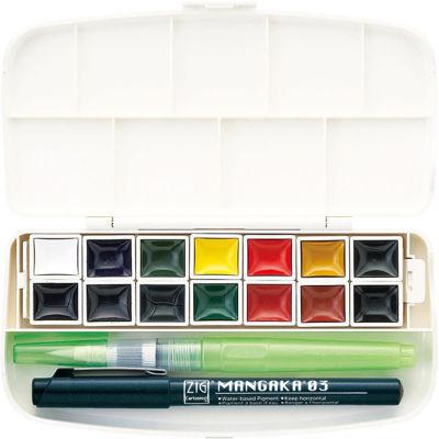 Gansai Tambi Portable 14 color set