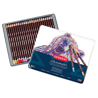 Picture of Derwent Coloursoft Pencil Sets