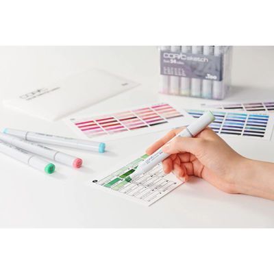 Picture of COPIC Color Swatch Cards