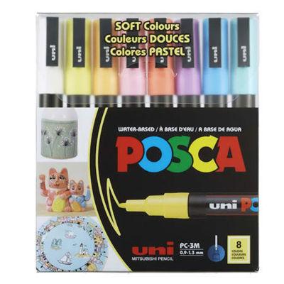 PC_3M 8 Color Soft Color Pastel Set