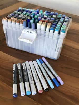 Copic Ink and marker case