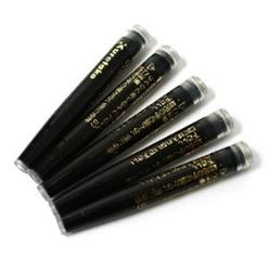 KURETAKE Brush Pen Refill Ink 5 pcs. Set Black